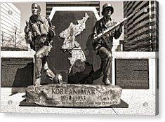 Tennessee Korean War Memorial Acrylic Print by Dan Sproul
