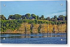 Tennessee River Cliffs Acrylic Print by Mountain Dreams