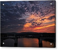 Tennessee River Sunset 2 Acrylic Print