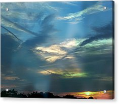 Tennessee Sunset Acrylic Print by EricaMaxine  Price