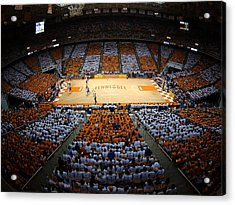 Tennessee Volunteers Thompson-boling Arena Acrylic Print