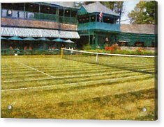 Tennis Hall Of Fame - Newport Rhode Island Acrylic Print by Michelle Calkins