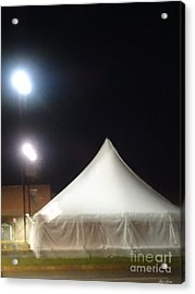 Tent Acrylic Print by Lyric Lucas