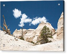 High Noon At Tent Rocks Acrylic Print