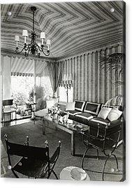 Tented Living Room Acrylic Print