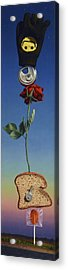 Tenuous Still-life 1 Acrylic Print by James W Johnson
