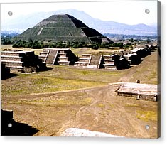 Teotihuacan - Pyramid Of The Sun Acrylic Print