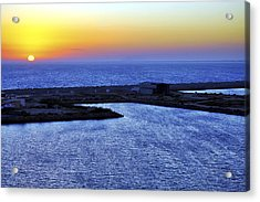 Tequila Sunrise Acrylic Print by Jason Politte