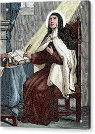 Teresa Of Avila (1515-1582 Acrylic Print by Prisma Archivo