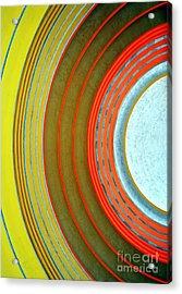 Terminal Art Acrylic Print by Mel Steinhauer