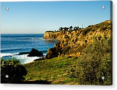 Acrylic Print featuring the photograph Terr Beach by Joseph Hollingsworth