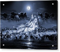 Terra Exorcism  Acrylic Print by George Grie