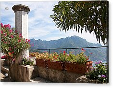 Terrace In The Clouds Acrylic Print