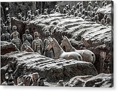 Terracotta Soldiers 1 Acrylic Print