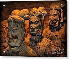Terracotta Warriors - The Emperor's Army Acrylic Print by Lee Dos Santos