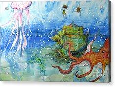 Territory Acrylic Print by Maya Simonson