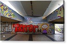 Terror Acrylic Print by Kees Colijn