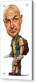 Terry O'quinn As John Locke Acrylic Print by Art