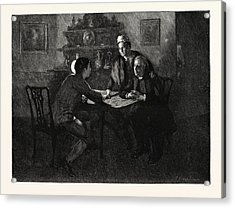 Tess Of The Durbervilles Is She Of A Family Such Acrylic Print by English School