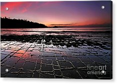 Tesselated Pavement Sunrise Acrylic Print