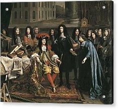 Testelin, Henri 1616-1695 Acrylic Print