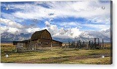 Teton Barn 2 Acrylic Print