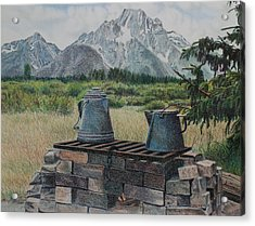 Teton Cook Site Acrylic Print