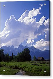 Teton Ranch Afternoon Acrylic Print by Mike Norton