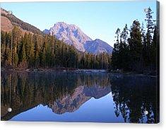 Teton Reflecions Acrylic Print