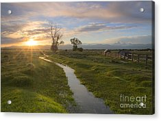 Teton Valley Morning Acrylic Print