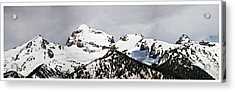 Tetons Panorama Acrylic Print