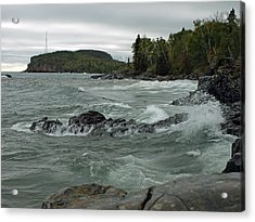 Tettegouche State Park Acrylic Print by James Peterson