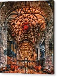 Tewkesbury Abbey IIII Acrylic Print