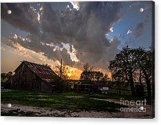 Texano Sky Acrylic Print