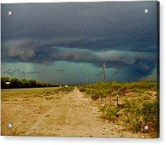 Texas Blue Thunder Acrylic Print by Ed Sweeney