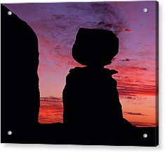 Texas Canyon Sunset Acrylic Print