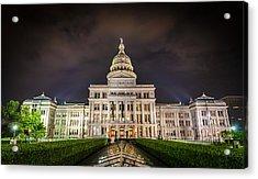 Texas Capitol Building Acrylic Print