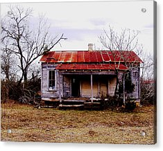Texas Duplex Acrylic Print by James Granberry