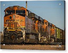 Texas Freight  Acrylic Print by Rob Hawkins