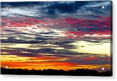 Texas Good Morning Acrylic Print