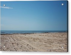 Texas Gulf Series Acrylic Print by Delaine Miller Sweat