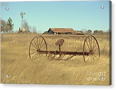 Texas Hill Country Farmscape Acrylic Print by Joe Jake Pratt