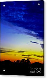 Texas Hill Country Sunset Acrylic Print