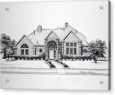 Texas Home 3 Acrylic Print by Hanne Lore Koehler