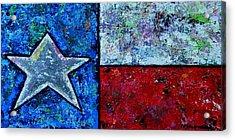 Texas In Color Acrylic Print