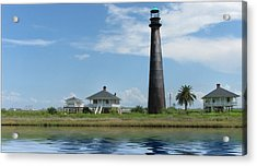 Acrylic Print featuring the photograph Texas Lighthouse by Cecil Fuselier