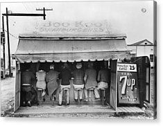 Texas Luncheonette, 1939 Acrylic Print by Granger