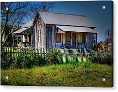 Texas Old Homestead Acrylic Print