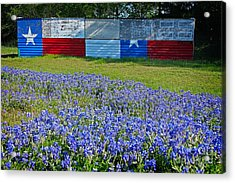 Texas Proud Acrylic Print