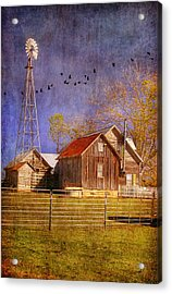 Texas Ranch Acrylic Print